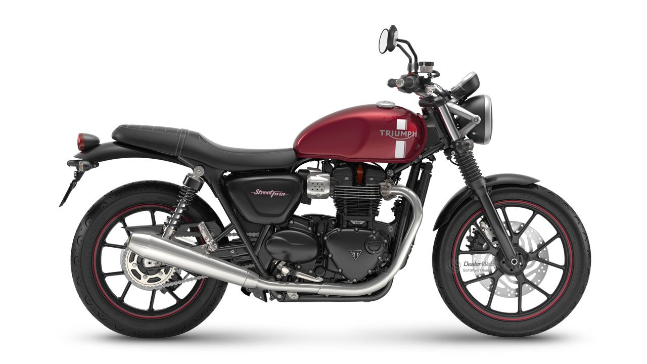 Street Twin Cranberry Red
