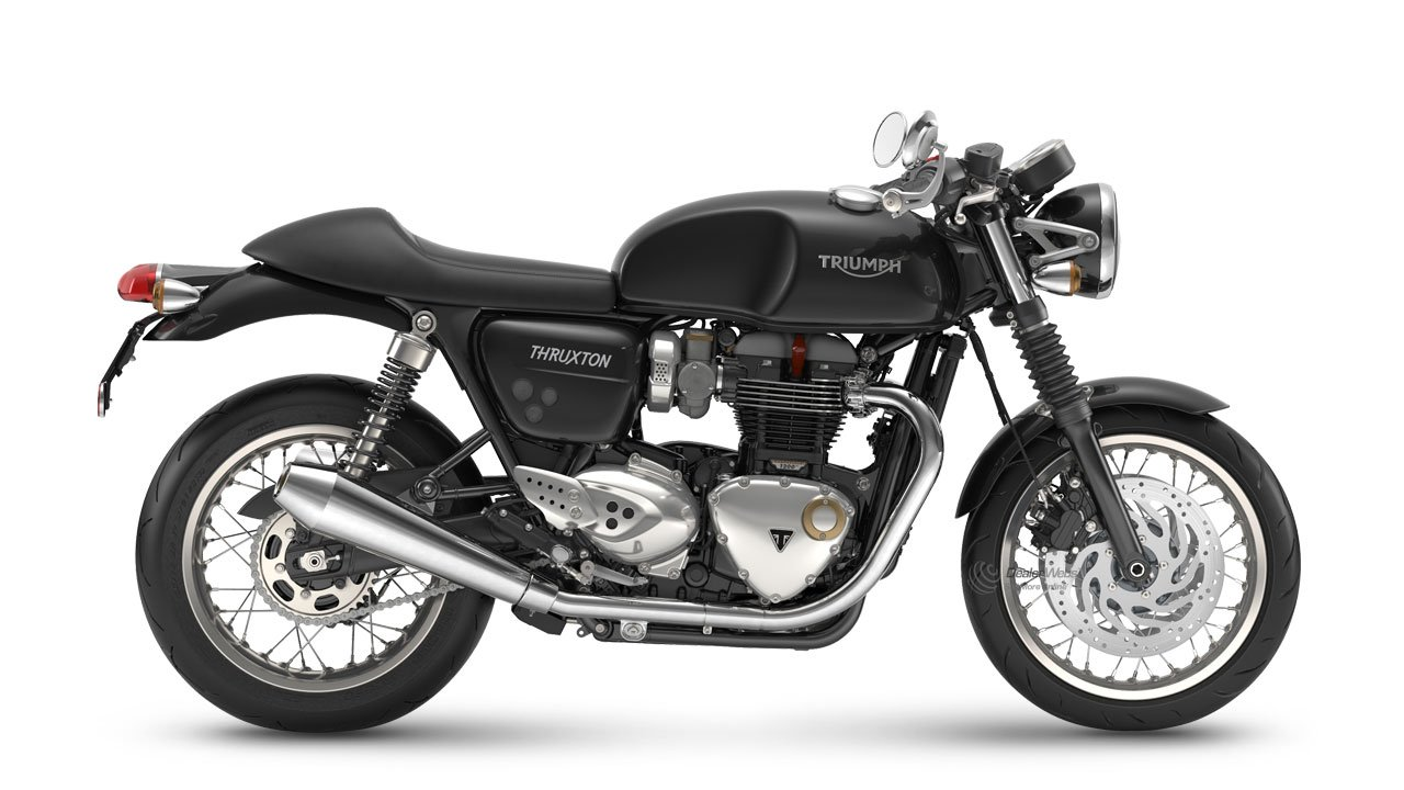 Thruxton Jet Black