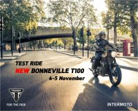 TEST RIDE NEW BONNEVILLE T100