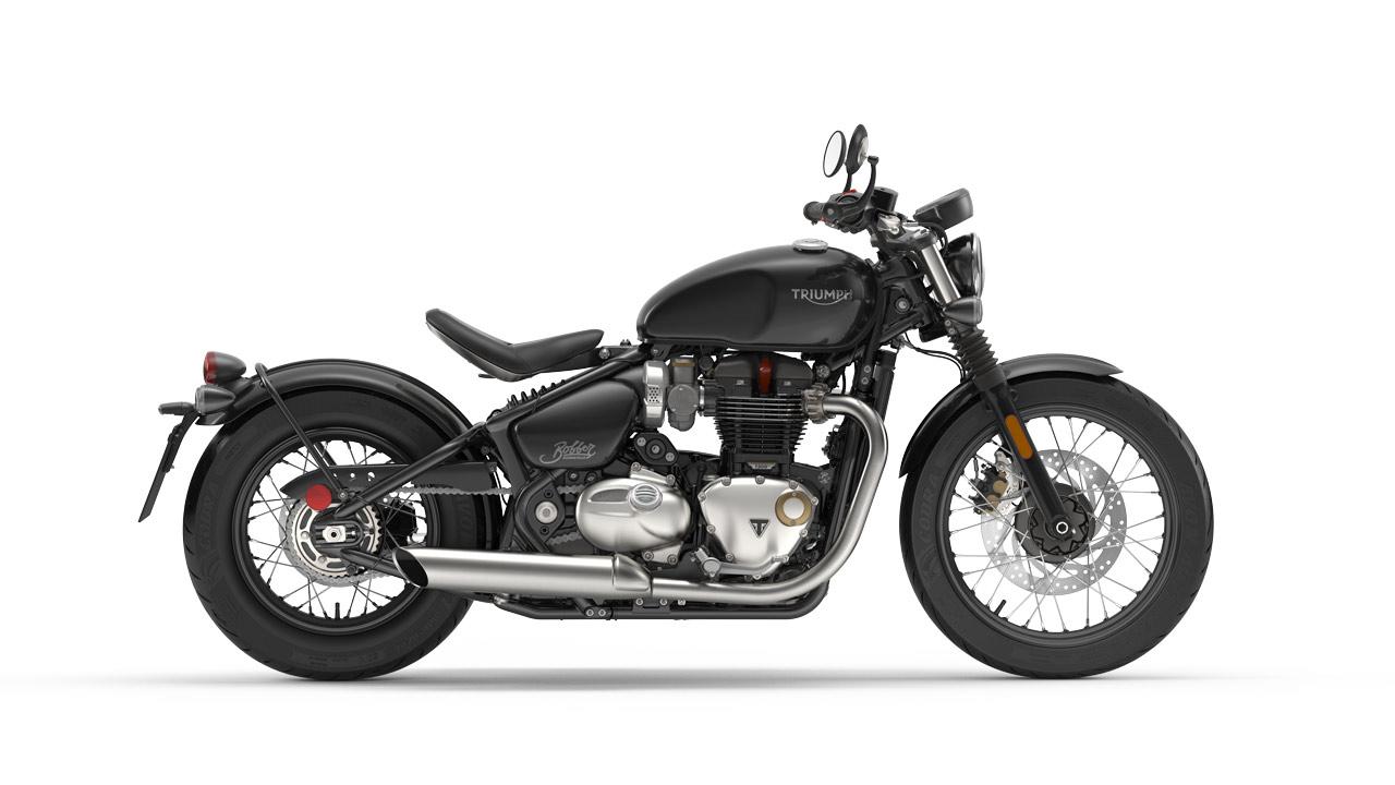 Bonneville Bobber - Jet-Black