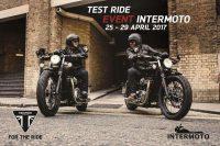 TEST RIDE 25-29 April 2017