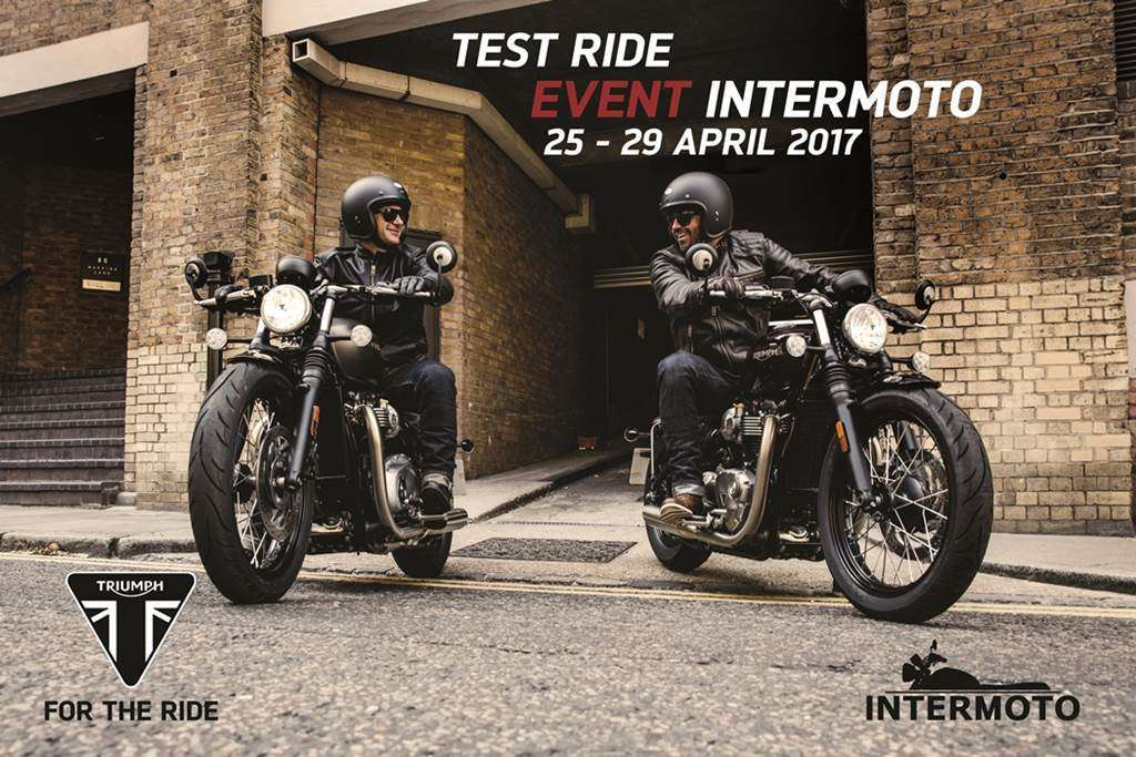 TEST RIDE 25-29 April 2017