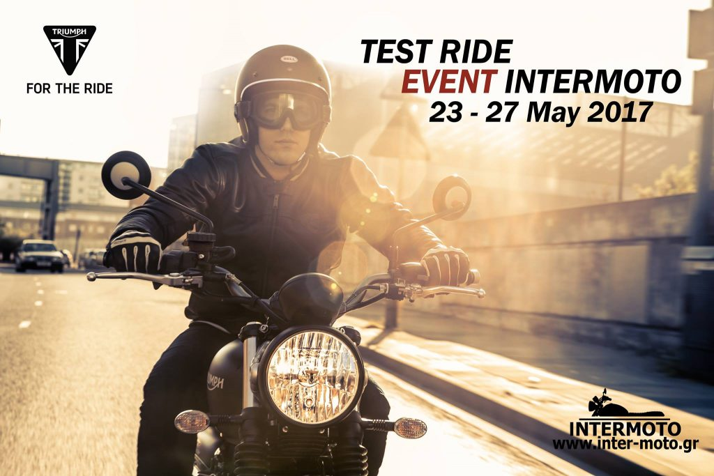 Test Ride Event 23 - 27 May 2017