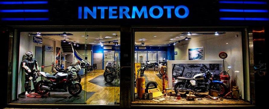 Intermoto Εξειδικευμένο Συνεργείο Triumph - Aντιπροσωπεία Benelli